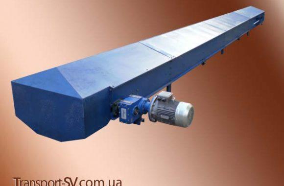 Конвеєр стрічковий роликовий (закритого типу)