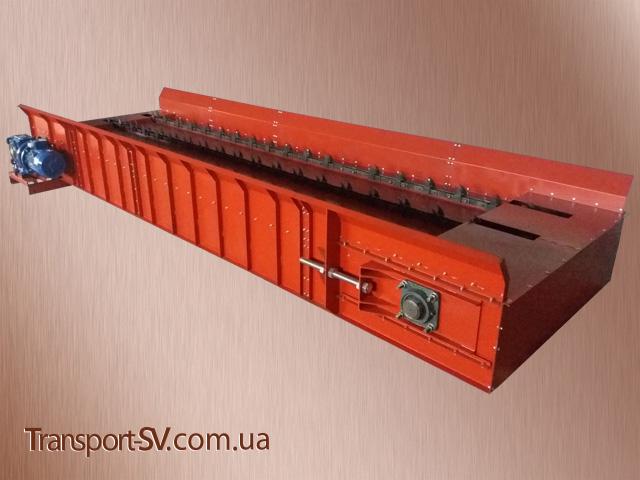 Приводная станция :: Транспортёр (конвейер) цепной для тюков соломы